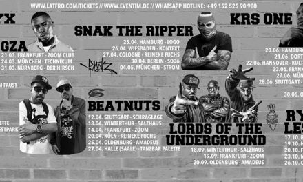 GZA, KRS One, Beatnuts & Lord of the Underground Live in Deutschland!
